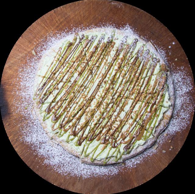 Mousse di pistacchio e nocciole